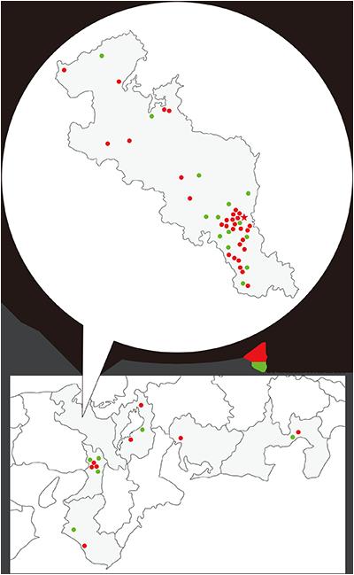 関連病院マップ